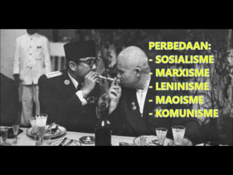 CUPLIKAN: PERBEDAAN SOSIALISME, MARXISME, LENINISME, MAOISME & KOMUNISME