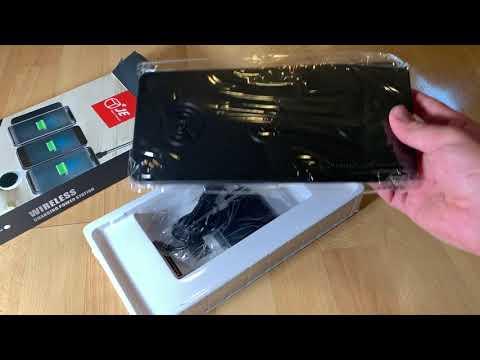 Qi Triple Wireless Ladestation JE 3-Geräte Wireless Charger Tischladestation Unboxing und Anleitung