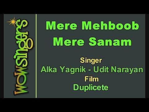 Mere Mehboob Mere Sanam - Hindi Karaoke - Wow Singers