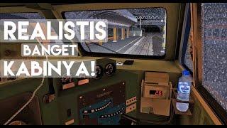 TRAINZ SIMULATOR ADD-ON INDONESIA - NYOBAIN KABIN CC 203 BARU!