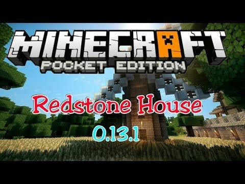 Casa Autom Tica Redstone Minecraft Pe 1 Oficial