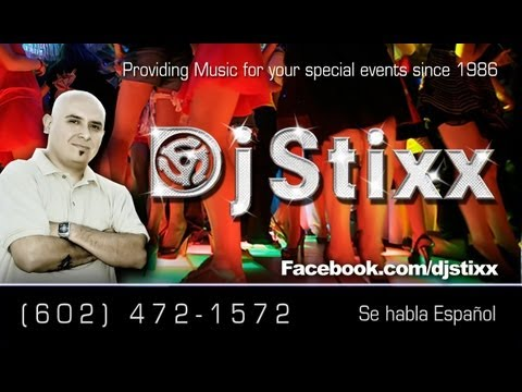 Tejano Cumbia y Conjunto .  Dj Stixx in the mix Booking 602 472 1572
