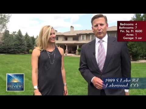 Colorado Previews - 1989 S Lake Rd, Lakewood, Colorado, Luxury Estate for Sale