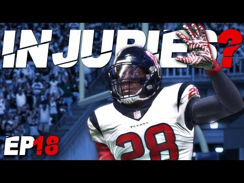 HORRIBLE Injuries, Attribute Update + TOUGH Game! | MADDEN 18 CAREER MODE GAMEPLAY | EP18