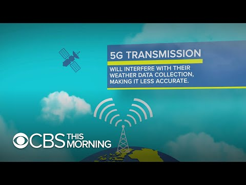 Scientists worry 5G network could interfere with weather forecasting