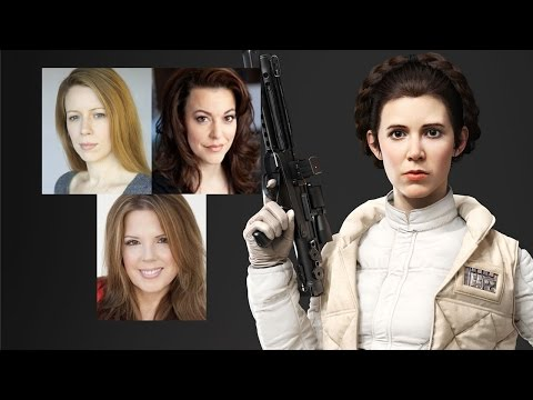 Comparing The Voices  Princess Leia Part 2