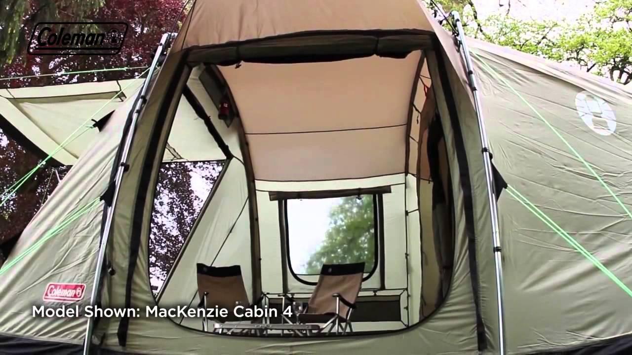 Coleman® Mackenzie™ Cabin 6 & Coleman® Mackenzie™ Cabin 6 - YouTube