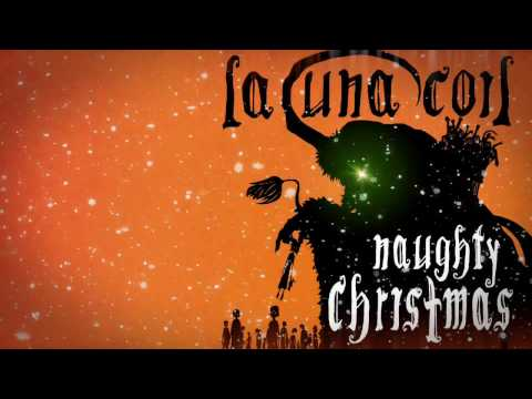LACUNA COIL - Naughty Christmas (Lyric Video)