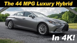 2019 Lexus ES 300h Hybrid First Drive Review