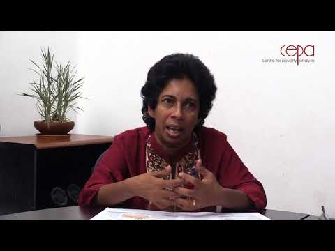 Prof. Amala de Silva on Poverty and Inequality in Sri Lanka