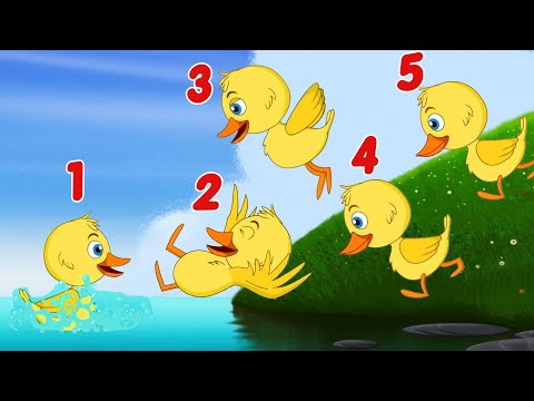 Five Little Ducks + Baby Shark Song + More Kids Songs Nursery Rhymes by Fun For KidsTV Songs