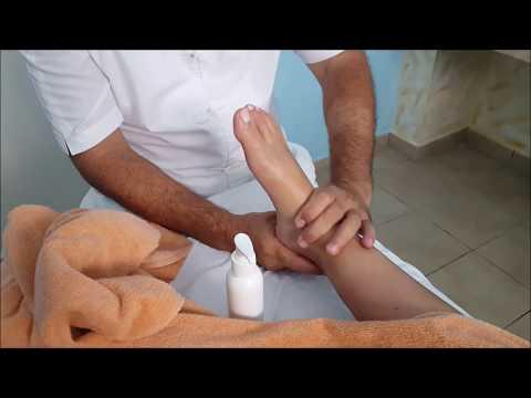 ASMR Feet and Head girl massage - no talking - honeymoon SPA