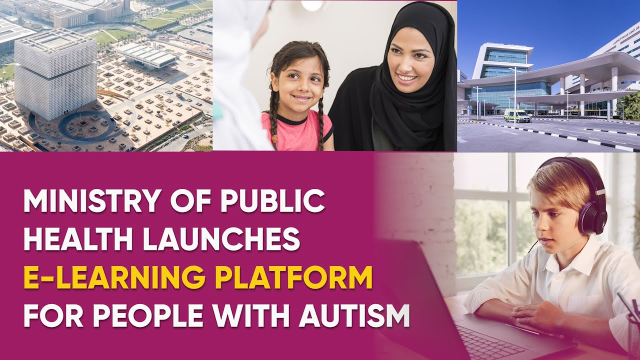 Ministry launches e-learning platform for people with autism