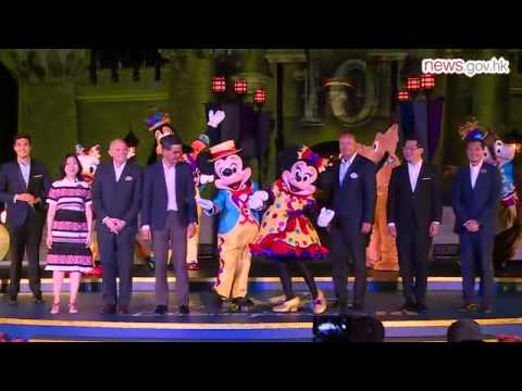 HK Disney celebrates 10th anniversary (11.9.2015)