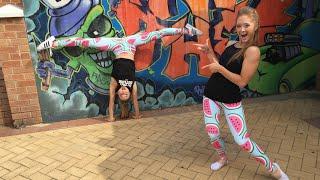 how to do a cartwheel sam and teagan