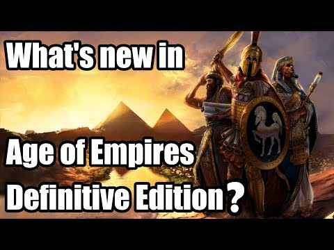 What's New In Age Of Empires Definitive Edition?