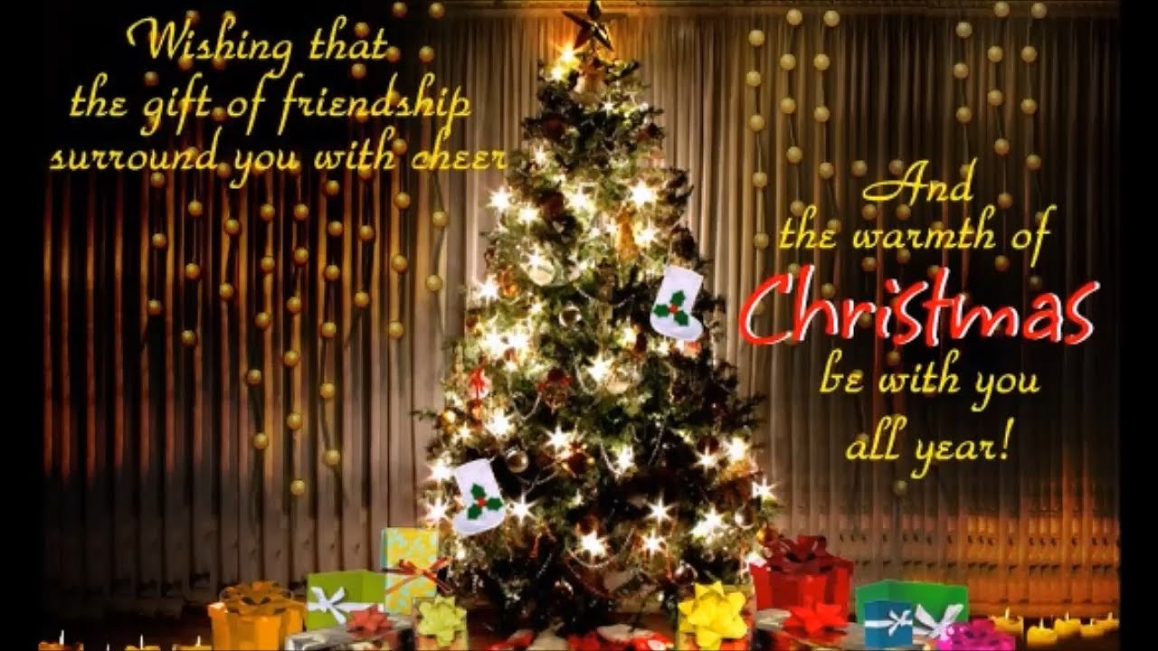 Best Merry Christmas Animation Video, Christmas wishes,Greetings ...