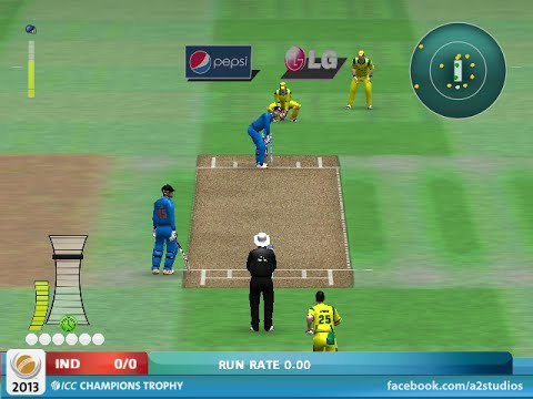 EA cricket 2015 india vs australia MATCH