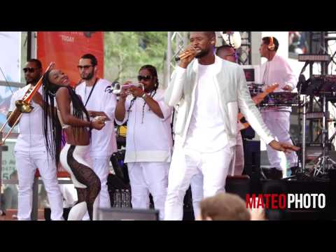 Usher  Good Kisser  on The Today Show