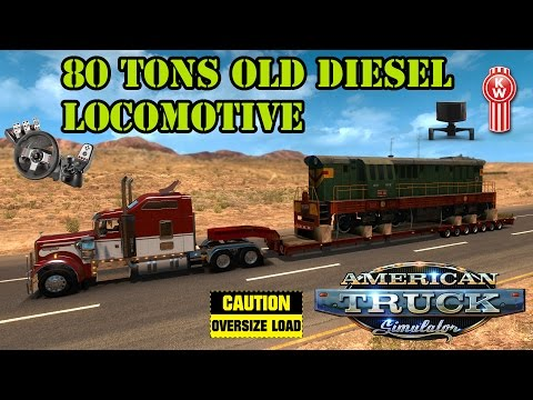 ATS Mods - 80 Tons Old Diesel Locomotive