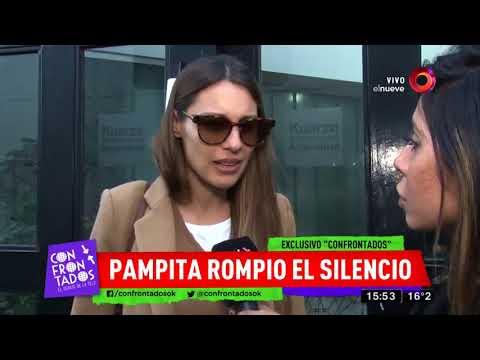 Pampita negó crisis con Pico Mónaco