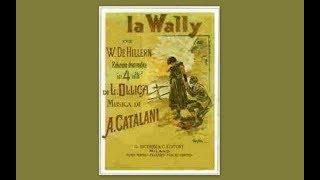 Violeta Urmana - LA WALLY , Atto 2 - Alfredo Catalani