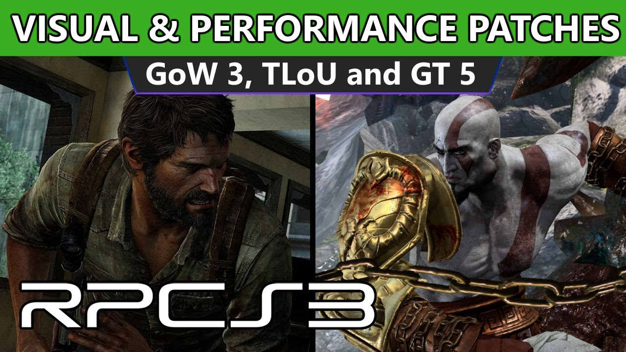 RPCS3 - New patches | God of War 3 - 30-40% Performance Gain | TLoU graphical fixes & more!