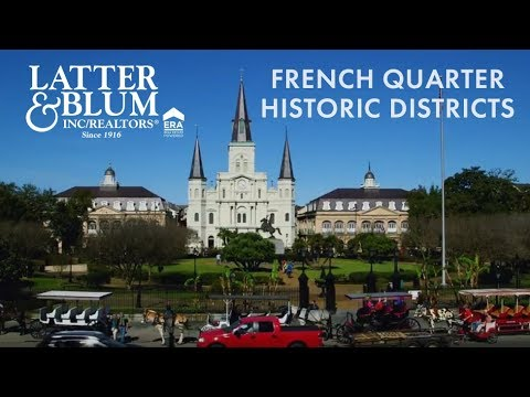 NOLA Communities French Quarter & Historic Districts