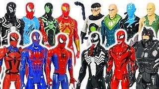 Marvel Titan Hero Spider-Man team VS Villains army battle! #DuDuPopTOY