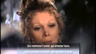 Mirella Freni: «Giunse alfin il momento - Deh, vieni, non tardar». Las Bodas de Fígaro, Mozart