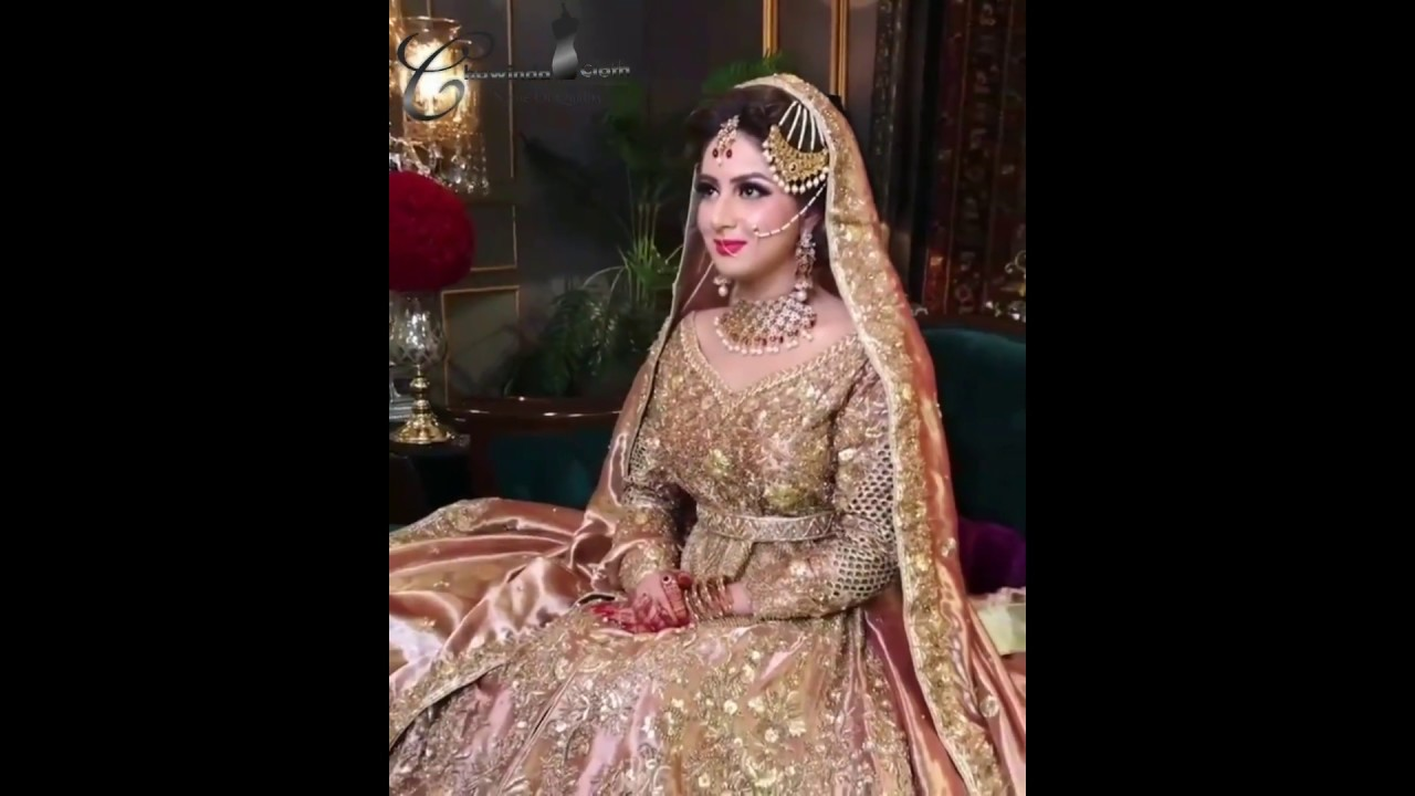 Pakistani Bridal Dresses 2018/2019