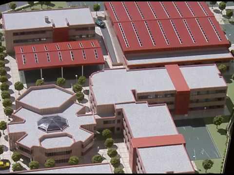 Maquetas de arquitectura conjunto dotacional educaci n for Plantas de colegios arquitectura
