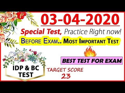 🔥BEST IELTS LISTENING PRACTICE TEST 2020 WITH ANSWERS | 03-04-2020