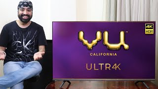 VU 4K ULTRA 50 inch Android TV |  Should you buy??  IN-DEPTH REVIEW by Tech Singh
