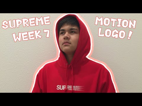 Supreme Motion Logo Hoodie! (UNBOXING & REVIEW)