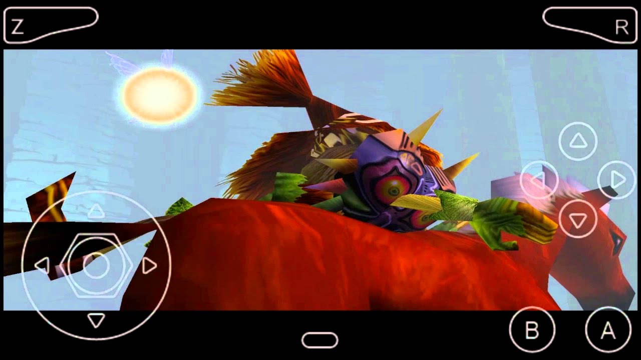 The Legend Of Zelda Majora's mask Hi_textures Pt-BR Android