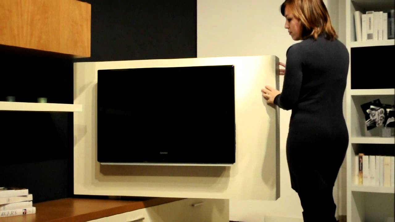 pannello porta tv lcd orientabile FREE-VIEW di ASTOR - YouTube