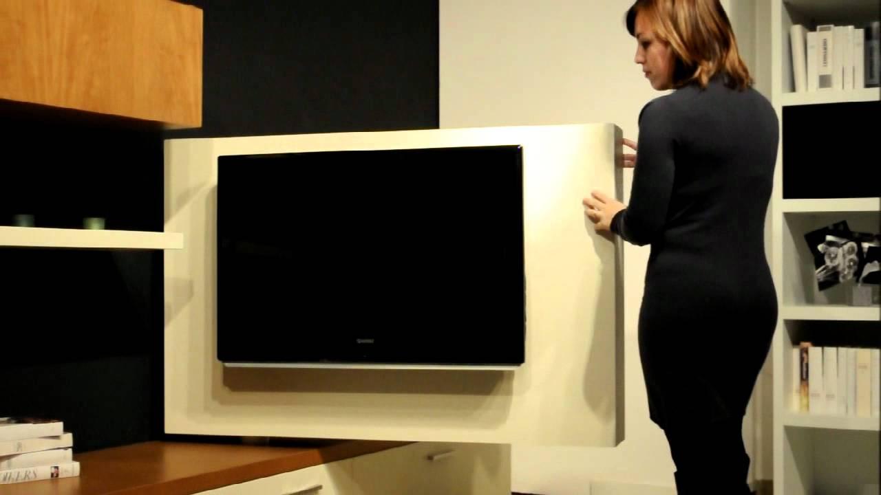 pannello porta tv lcd orientabile FREEVIEW di ASTOR  YouTube