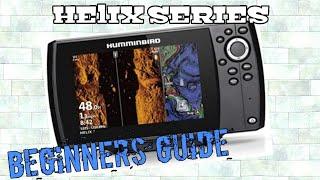 Humminbird Helix 7 , 8 , 9 , 10 G3N Beginners Tutorial screenshot 2