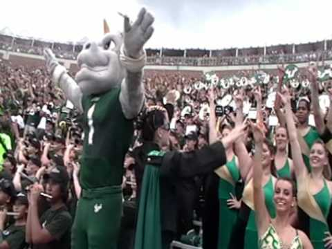 USF Herd of Thunder Stand Tunes at FSU game Sept 26 2009