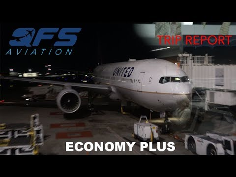 TRIP REPORT | United Airlines - 777 200 - San Francisco (SFO) to Chicago (ORD) | Economy Plus