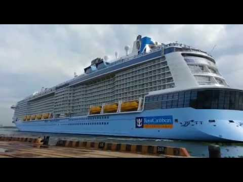 """Kochi Checkout the Exclusive Video- """"Quantum of the Seas"""" at Kochi Port"""