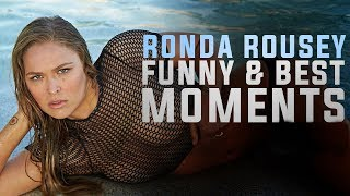 Ronda Rousey Funny and Best Moments - Funny Videos 2016