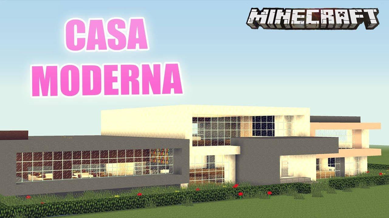 Minecraft casa moderna para ricos mapa de suscriptor for Casa moderna para minecraft
