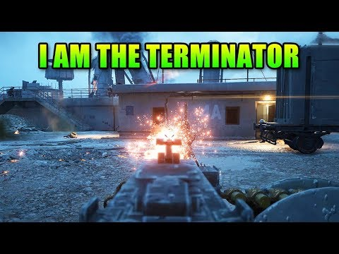 I Am The Terminator | Battlefield 1 Squad Up