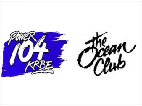 KRBE (Power 104) LIVE from The Ocean Club (July 1988)