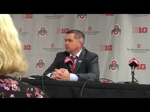 Ohio State coach Chris Holtmann is asked about low attendance at Value City Arena 1-22-18