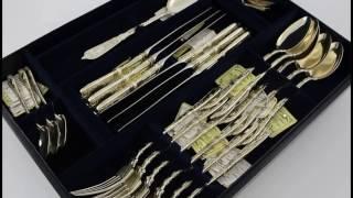 Набор столового серебра Царский на 6 персон(, 2017-01-29T10:00:51.000Z)