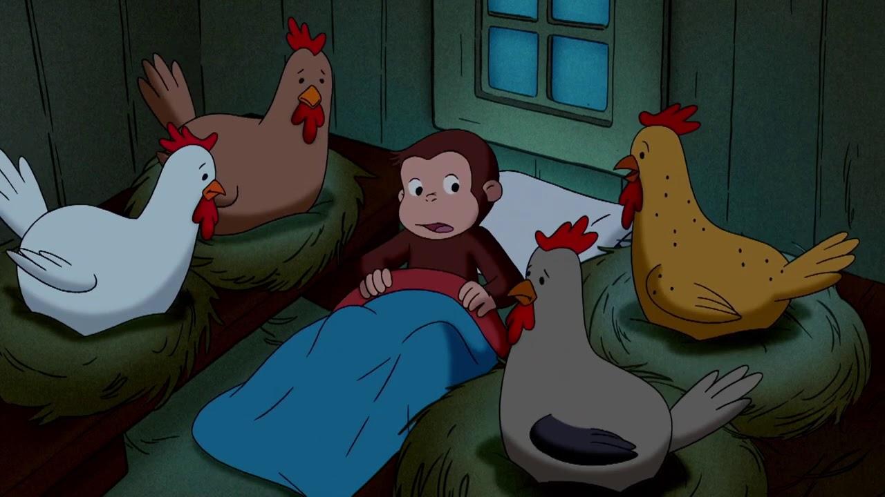 鶏は私たちの友達です 🐵 おさるのジョージ 🐵 農場