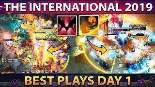 The International 2019 - TI9 Best Plays Group Stage - Day 1